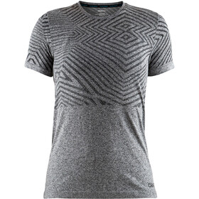 Craft Cool Comfort She RN SS Shirt Damen black melange